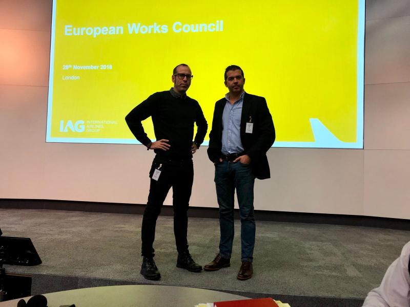 Reunión del Comité de Empresa Europeo de IAG