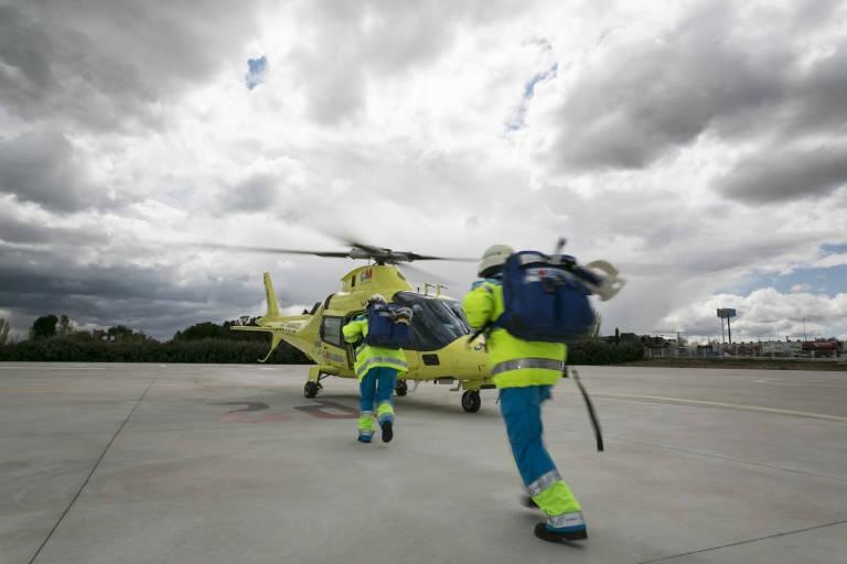 UGT plantea medidas alternativas para evitar el recorte salarial del 30% en la plantilla de la empresa de helicópteros anti-incendios