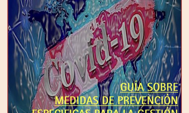 El Sindicato Aéreo de FeSMC-UGT desarrolla una Guía de Apoyo sobre Medidas de Prevención Específicas para la Gestión del COVID-19 en el Sector Aéreo
